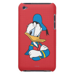 Classic Angry Donald Duck  Case-Mate iPod Touch Barely There Case