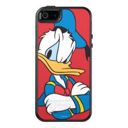 Classic Angry Donald Duck  OtterBox Symmetry iPhone SE/5/5s Case