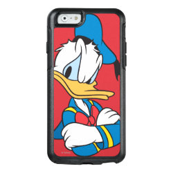 Classic Angry Donald Duck  OtterBox Symmetry iPhone 6/6s Case