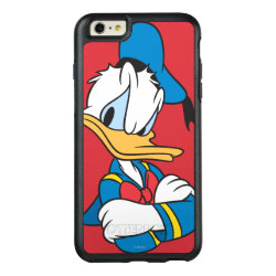 Classic Angry Donald Duck  OtterBox Symmetry iPhone 6/6s Plus Case