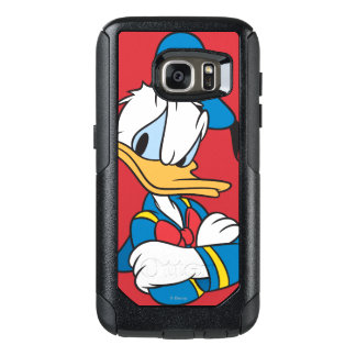 Donald Duck   Arms Crossed OtterBox Samsung Galaxy S7 Case