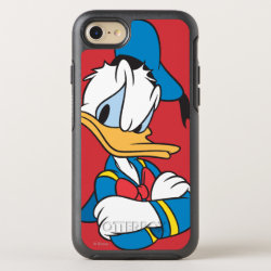 OtterBox Apple iPhone 7 Symmetry Case with Classic Angry Donald Duck  design