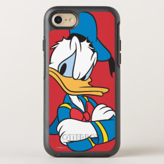 Donald Duck   Arms Crossed OtterBox Symmetry iPhone 7 Case