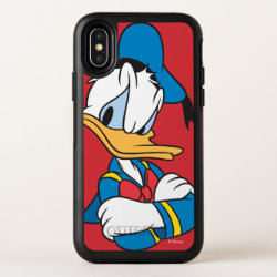OtterBox Apple iPhone X Symmetry Case with Classic Angry Donald Duck  design