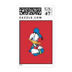 Medium Stamp 2.1' x 1.3' with Classic Angry Donald Duck  design