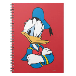 Photo Notebook (6.5' x 8.75', 80 Pages B&W) with Classic Angry Donald Duck  design
