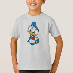 Classic Angry Donald Duck  Kids' Hanes TAGLESS® T-Shirt
