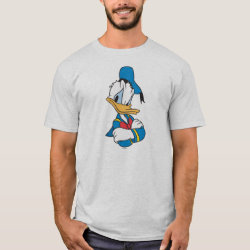 Men's Basic T-Shirt with Classic Angry Donald Duck  design