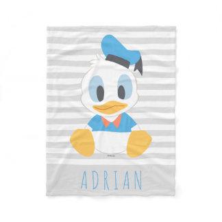 Donald Duck | Baby Donald - Add Your Name Fleece Blanket