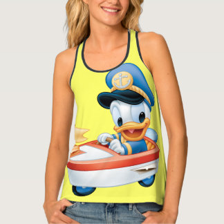 Donald Duck | Boat Baby Tank Top