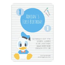 Donald Duck | First Birthday Card