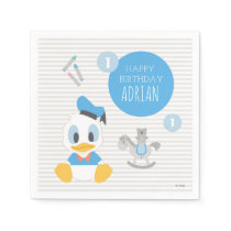 Donald Duck | First Birthday Napkin