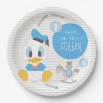 Donald Duck | First Birthday Paper Plate