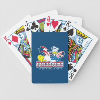 Donald Duck | Freedom Bicycle Playing Cards