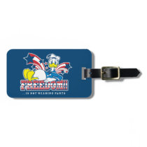Donald Duck | Freedom Luggage Tag