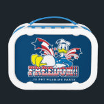 """Donald Duck   Freedom Lunch Box<br><div class=""""desc"""">Donald Duck   Freedom!! …is not wearing pants. Check out this patriotic graphic of Donald exercising his freedom to not wear pants!</div>"""