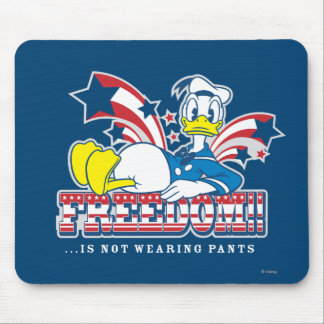 Donald Duck | Freedom Mouse Pad