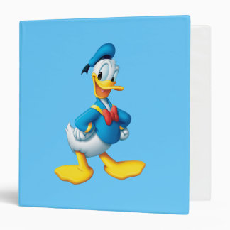 Donald Duck | Happy 3 Ring Binder