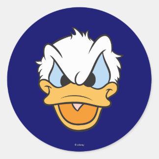 Donald Duck Head Sticker