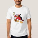 Donald Duck in Devil Costume Shirt
