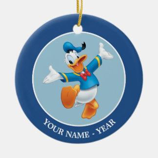 Donald Duck | Jumping Ceramic Ornament