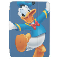 iPad Air Cover with Happy & Cute Donald Duck design