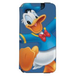 Incipio Watson™ iPhone 6 Wallet Case with Happy & Cute Donald Duck design