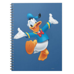 Photo Notebook (6.5' x 8.75', 80 Pages B&W) with Happy & Cute Donald Duck design