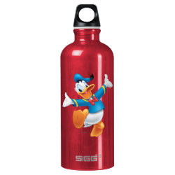 SIGG Traveller Water Bottle (0.6L) with Happy & Cute Donald Duck design