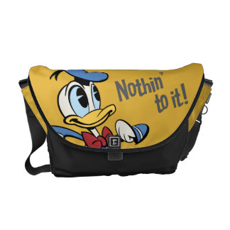Donald Duck - Nothin' to it! Messenger Bags