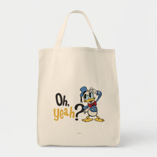 Donald Duck - Oh Yeah? Grocery Tote Bag