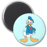 Donald Duck | One Hand on Hip 2 Inch Round Magnet