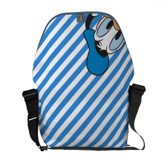 Donald Duck   Peek-a-Boo Courier Bag