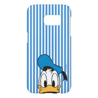 Donald Duck   Peek-a-Boo Samsung Galaxy S7 Case