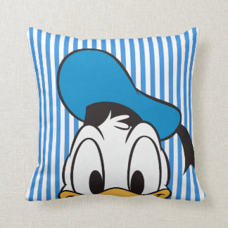 Donald Duck | Peek-a-Boo Throw Pillow