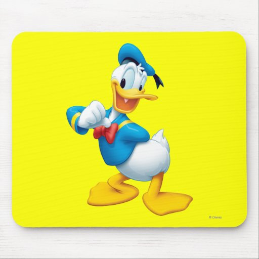 Donald Duck Pose 1 Mouse Pads