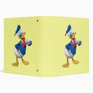 Donald Duck Pose 3 Binders