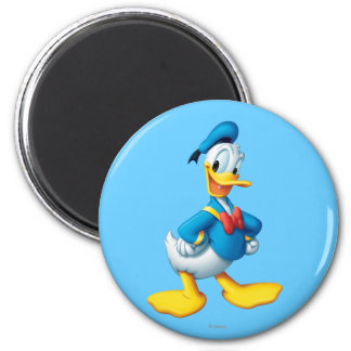 Donald Duck Pose 4 2 Inch Round Magnet
