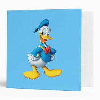 Donald Duck Pose 4 Binders