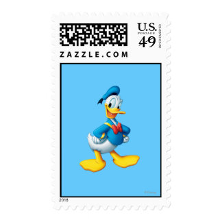 Donald Duck Pose 4 Stamps