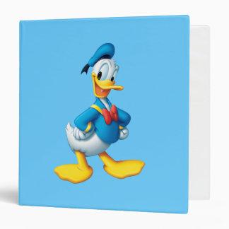 Donald Duck Pose 4 Vinyl Binder