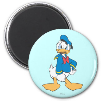 Donald Duck Pose 5 2 Inch Round Magnet