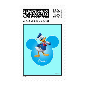 Donald Duck Postage Stamp