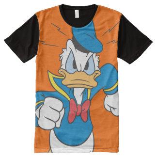 Donald Duck   Running All-Over-Print T-Shirt