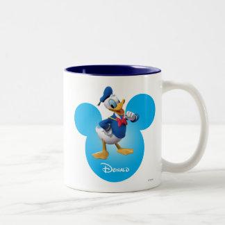 Donald Duck Two-Tone Coffee Mug