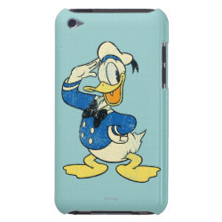 Case-Mate iPod Touch Barely There Case with Retro Sailor Donald Duck design