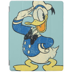 iPad 2/3/4 Cover with Retro Sailor Donald Duck design