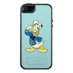 OtterBox Symmetry iPhone SE/5/5s Case with Retro Sailor Donald Duck design