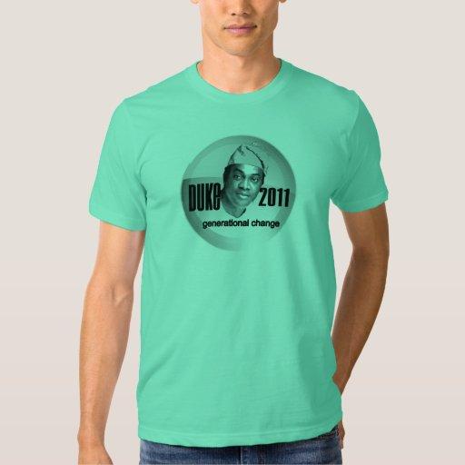 Donald Duke for President of Nigeria 2011 Tshirt