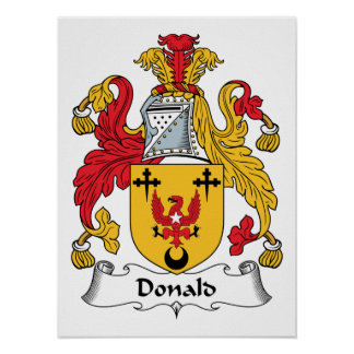 Donald Family Crest Poster